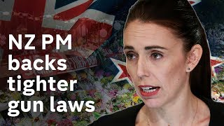 NZ PM pledges new gun laws after Christchurch terror attack
