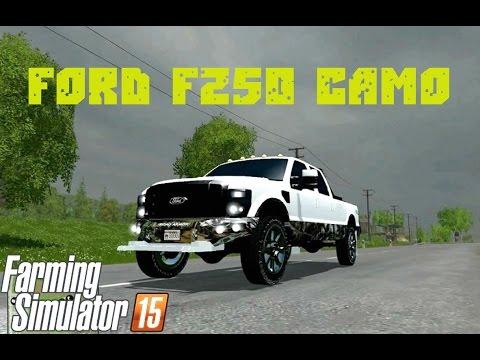 Ford f250 camo v2