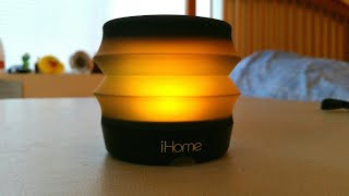 iHome Color Changing Bluetooth Speaker iBT62 | Review, Unboxing, & Sound Test!