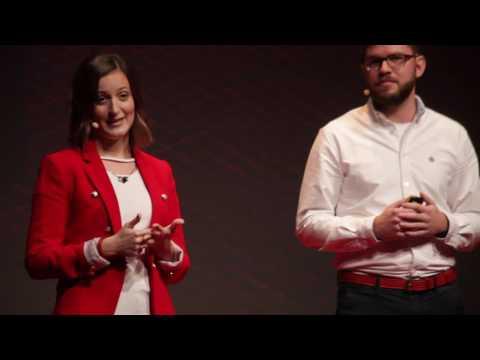 Együtt leszünk értékesek | Major Zoltán & Barta Niki | TEDxYouth@Budapest 2016