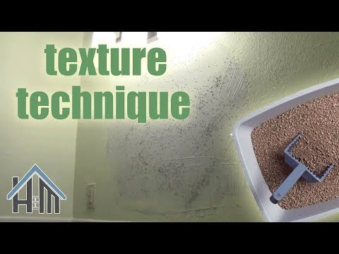 how to texture wall, texture drywall, sand texture. Easy! Home Mender