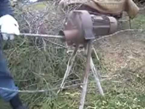 Измельчители садовые своими руками фото