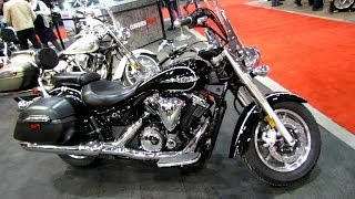 8. 2014 Yamaha V-Star 1300 Tourer Walkaround - 2014 Toronto Motorcyle Show