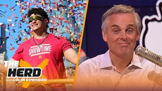 Colin reacts to Patrick Mahomes' historic contract & what it means for Dak Prescott | NFL | THE HERD by Colin Cowherd
