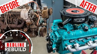 Buick Nailhead V-8 engine rebuild time-lapse: from rusty to roaring | Redline Rebuilds - S3E3