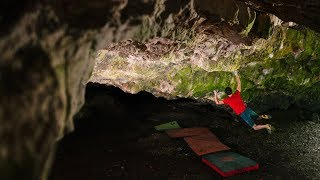 Road to Tokyo #36: Bouldering in a Cave / Ghost Rider 8C by Adam Ondra