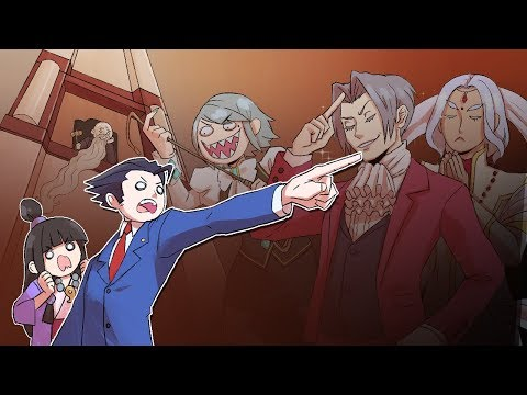 So This is Basically Ace Attorney