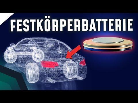 Festkörperbatterien - Zukunft des E-Autos und mehr