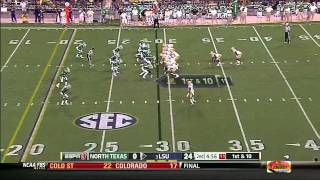 Alfred Blue vs North Texas (2012)
