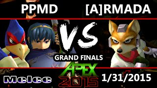 Video Apex 2015 - Armada (Fox) Vs. PPMD (Marth, Falco) - Grand Finals - SSBM MP3, 3GP, MP4, WEBM, AVI, FLV November 2017