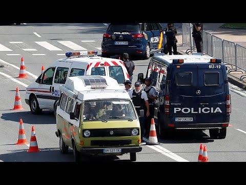 Frankreich: G7-Gipfel - Demonstranten und Sicherheits ...