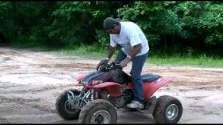 10. ATV - we didnt brake it - Honda 450R Kick Start - ATV - 4 wheeler