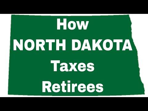 How NORTH DAKOTA Taxes Retirees