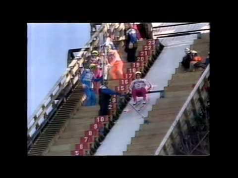 Skiflug WM 1990 Vikersund Teil 1 tekijä: QuoFrancis