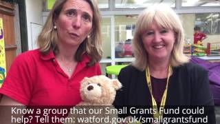 WBC Small Grants Fund: Making a difference in Watford