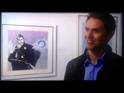 James Mylne BBC News Art Interview 02/04/14