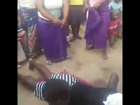 Watch Video Of A Nigerian Woman Being Tested On Her Love Making Skills  Before She Is Married Off
