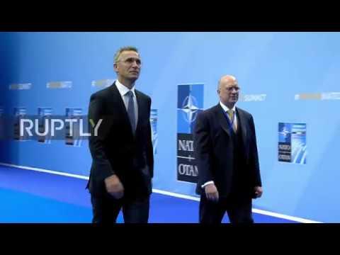 Brussels: Stoltenberg, Poroshenko, Pashinyan arrive for 2nd day of NATO Summit
