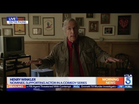 Henry Winkler is Over the Moon with