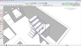 Video How to build terraced house #2 - make stairs - Sketchup Tutotrial MP3, 3GP, MP4, WEBM, AVI, FLV Desember 2017