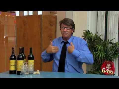 Broma de la degustación de vinos