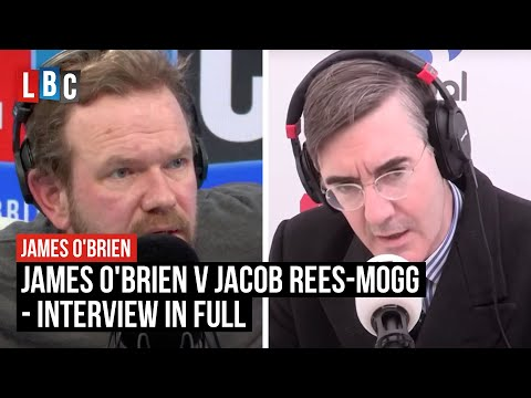 James O'brien's Unmissable Exchange With Jacob Rees-mogg Over Brexit Vote - Lbc