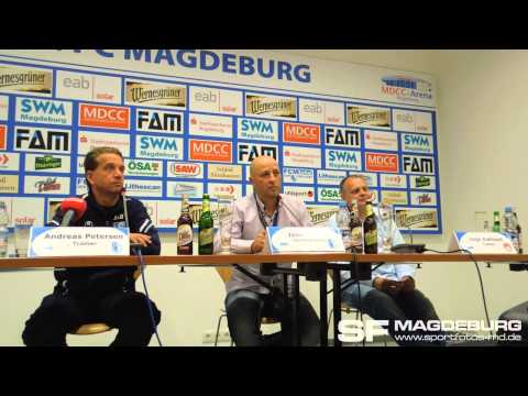 Video: Pressekonferenz - 1. FC Magdeburg gegen FSV Optik Rathenow 1:0 (0:0)