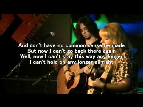 Orianthi He's Gone / Need You Tonight (INXS cover) live lyrics