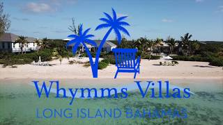 Whymms Villas - Sunset House & Studio, Luxury Villa Rentals, Long Island, Bahamas