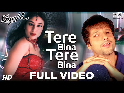 Khushi - Watch this video to see and enjoy the song tere bina from the movie Khushi. Credits of the Song are as follows Singer(s): Alka Yagnik & Shaan Music Director:...