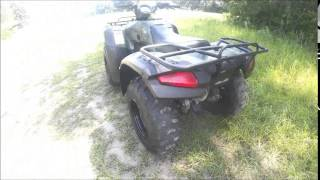 9. 2004 Honda Fourtrax Rancher 350 ES