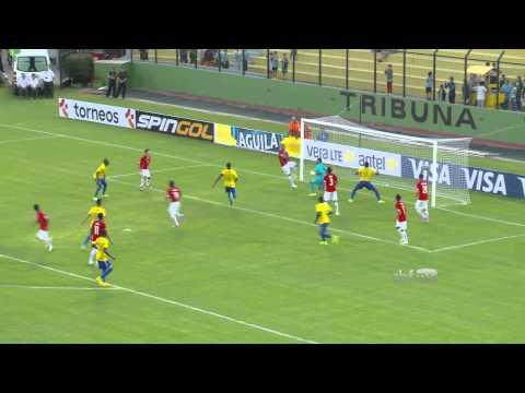 Sulamericano sub-20: Brasil estreia com vit�ria sobre o Chile