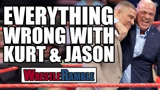 WWE Raw vs Smackdown, July 3 & 4, 2017 reviewed in WrestleRamble by Luke & Oli including the reveal of Kurt Angle's long-running texting mystery, the start of Raw's Summerslam build and Smackdown's lacklustre go-home episode - and deciding which was the better show.Subscribe to WrestleTalk for daily WWE and wrestling news! https://goo.gl/WfYA12Support WrestleTalk on Patreon here! http://goo.gl/2yuJpo3:34 - Raw Review24:39 - Everything wrong with Kurt Angle & Jason Jordan41:54 - Smackdown Review1:01:42 - Who won this week's War?Subscribe to the WrestleTalk Podcast Network on iTunes: https://goo.gl/783yg4Catch us on Facebook at: http://www.facebook.com/WrestleTalkTVFollow us on Twitter at: http://www.twitter.com/WrestleTalk_TV