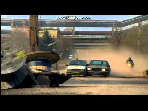Прямой контакт / Direct Contact (2009) Car chase scene 3