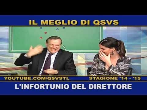 QSVS - L'INFORTUNIO DEL DIRETTORE - TELELOMBARDIA / TOP CALCIO