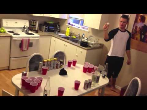 BEER Pong Training – eye of the tiger