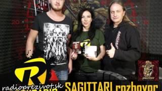 Video Rozhovor SAGITTARI - Rádio pre život Rock/Metal