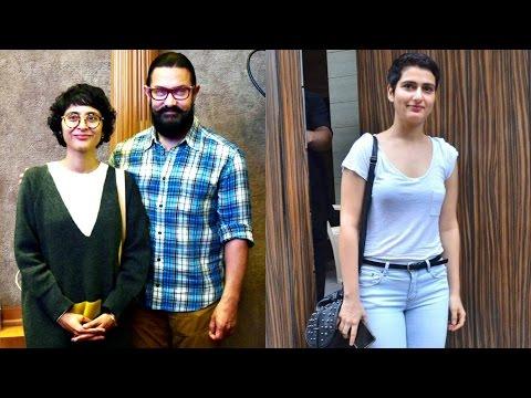 Aamir Khan & Kiran Rao | Fatima Sana Shaikh |Spotted At Olive Bar