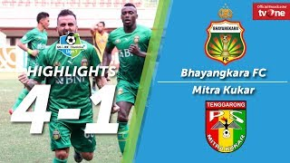 Video Bhayangkara FC vs Mitra Kukar: 4-1 All Goals & Highlights MP3, 3GP, MP4, WEBM, AVI, FLV Oktober 2017