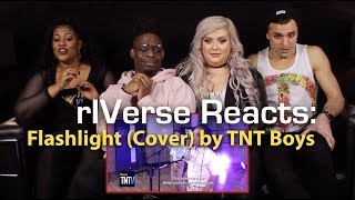 Video rIVerse Reacts: Flashlight by TNT Boys - Live Cover Reaction MP3, 3GP, MP4, WEBM, AVI, FLV Februari 2019