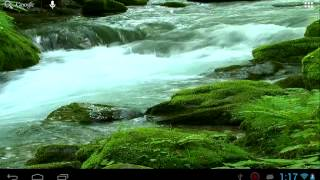 Relaxing wellspring YouTube video