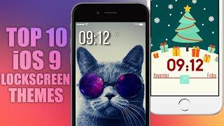 TOP 10 iOS 9 LockScreen Themes, ios 9, ios, iphone, ios 9 ra mat