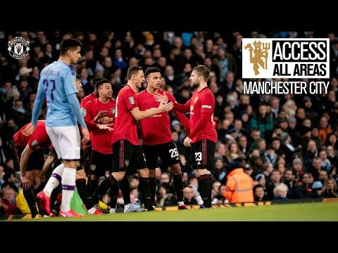 View From The Away End! | Access All Areas | Man City 0-1 Manchester United | Carabao Cup