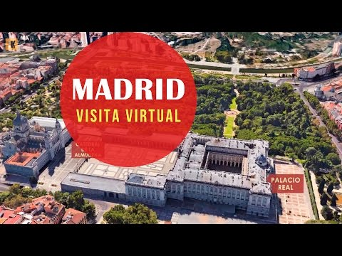 madrid, visita virtuale