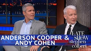 Anderson Cooper Isn't Ready To Endorse Andy Cohen For Mayor Of NYC