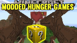 Minecraft: Kangaroo Love Modded Hunger Games - Lucky Block Mod - Modded Mini-Game