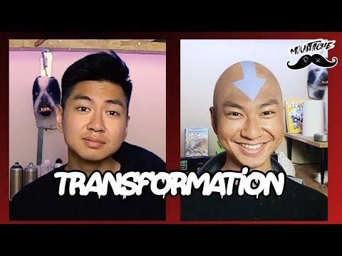 Moustache - TRANSFORMATION AVATAR ( Feat Le rire Jaune)
