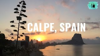 Calpe Spain  City new picture : Our trip to Calpe, Spain 2016