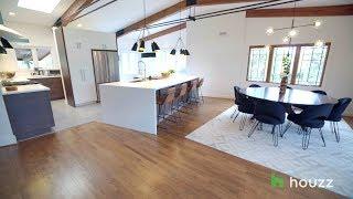 Inspired Houzz: An Open Floor Plan Updates a Midcentury Home