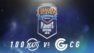 Video 100 vs. CG  | NA LCS Spring Playoffs | Semifinals Game 1 | 100 Thieves vs. Clutch Gaming MP3, 3GP, MP4, WEBM, AVI, FLV Juni 2018